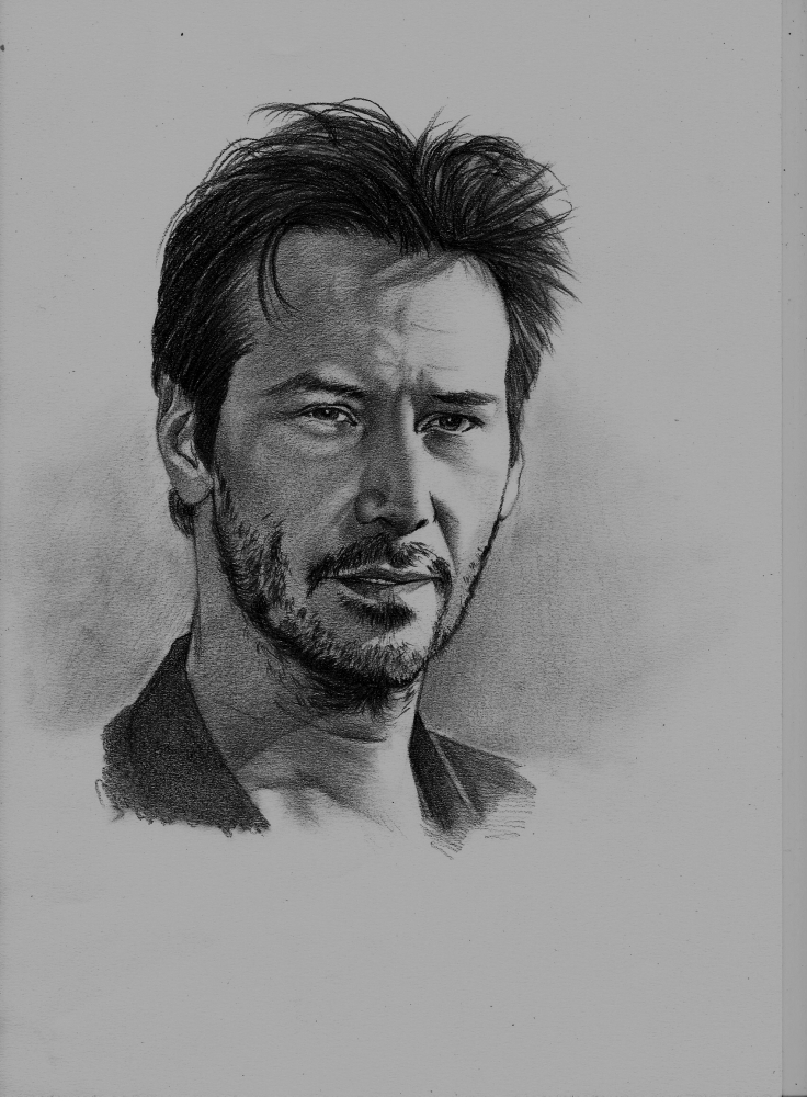 Keanu Reeves by Exalion